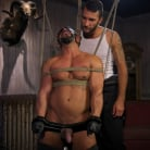 Draven Navarro in 'Captured Criminal: Hard Working Stud Gags and Punishes Wanted Thief'