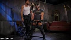 Draven Navarro - Captured Criminal: Hard Working Stud Gags and Punishes Wanted Thief | Picture (2)
