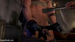 Draven Navarro - Captured Criminal: Hard Working Stud Gags and Punishes Wanted Thief | Picture (6)
