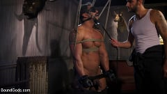 Draven Navarro - Captured Criminal: Hard Working Stud Gags and Punishes Wanted Thief | Picture (7)