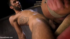 Draven Navarro - Captured Criminal: Hard Working Stud Gags and Punishes Wanted Thief | Picture (15)