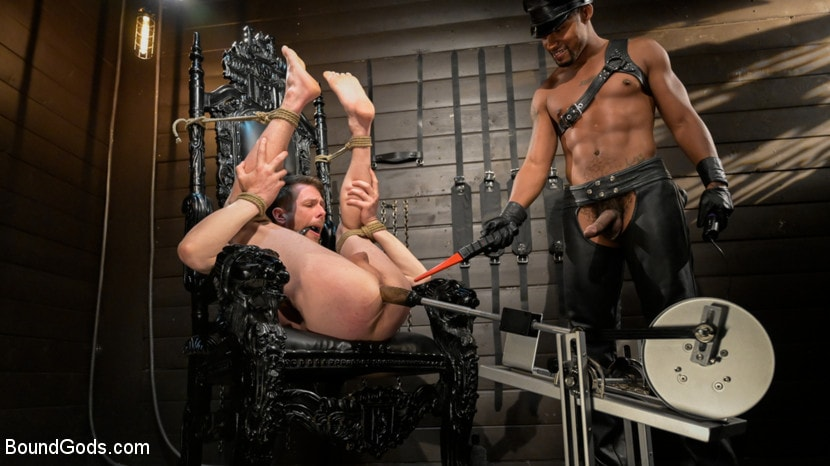 Jacen Zhu - Yes Master Koga: Jacen Zhu Dominates Submissive Stud Alex Killian | Picture (12)