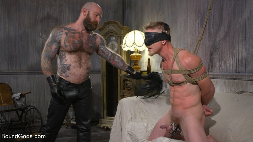 Jack Dixon - Cody Winter Gets Thrashed and Fucked by Hairy Muscle Daddy Jack Dixon | Picture (17)