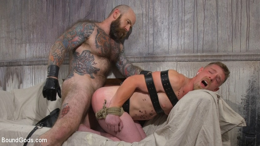 Jack Dixon - Cody Winter Gets Thrashed and Fucked by Hairy Muscle Daddy Jack Dixon | Picture (25)