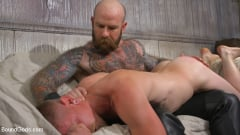 Jack Dixon - Cody Winter Gets Thrashed and Fucked by Hairy Muscle Daddy Jack Dixon | Picture (6)