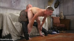 Jack Dixon - Cody Winter Gets Thrashed and Fucked by Hairy Muscle Daddy Jack Dixon | Picture (12)