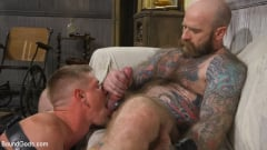 Jack Dixon - Cody Winter Gets Thrashed and Fucked by Hairy Muscle Daddy Jack Dixon | Picture (27)