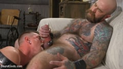 Jack Dixon - Cody Winter Gets Thrashed and Fucked by Hairy Muscle Daddy Jack Dixon | Picture (28)