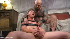 Jack Dixon - Cody Winter Gets Thrashed and Fucked by Hairy Muscle Daddy Jack Dixon | Picture (29)