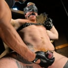 Jack Vidra in 'Hairy Ginger Beefcake Jack Vidra Bound, Edged, and Fucked!'