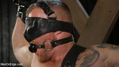 Jack Vidra - Hairy Ginger Beefcake Jack Vidra Bound, Edged, and Fucked! | Picture (1)