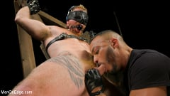 Jack Vidra - Hairy Ginger Beefcake Jack Vidra Bound, Edged, and Fucked! | Picture (9)