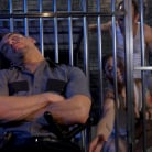 Jeremy Spreadums in 'New CO falls asleep on the job and gets milked by two horny inmates'