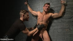 Jordan Boss - Straight Hunk Jordan Boss Mercilessly Beaten and Made to Cum | Picture (13)