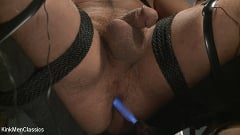 Jordan Boss - Straight Hunk Jordan Boss Mercilessly Beaten and Made to Cum | Picture (26)