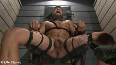 Jordan Boss - Straight Hunk Jordan Boss Mercilessly Beaten and Made to Cum | Picture (27)