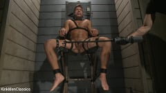 Jordan Boss - Straight Hunk Jordan Boss Mercilessly Beaten and Made to Cum | Picture (28)