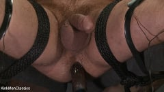 Jordan Boss - Straight Hunk Jordan Boss Mercilessly Beaten and Made to Cum | Picture (29)