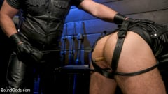 Kristofer Weston - ASH PIGS: Cigar Smoking Leather Daddy Breaks in His Hairy Muscle Slave | Picture (6)