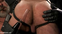 Kristofer Weston - ASH PIGS: Cigar Smoking Leather Daddy Breaks in His Hairy Muscle Slave | Picture (13)