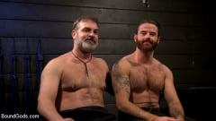 Kristofer Weston - ASH PIGS: Cigar Smoking Leather Daddy Breaks in His Hairy Muscle Slave | Picture (22)