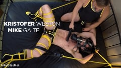 Kristofer Weston - Kristofer Weston Ties Up Mike Gaite and Torments His Hairy Hole | Picture (17)