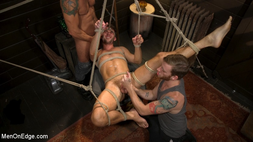 Max Adonis - In Home Entertainment: Captive Slut Max Adonis Edged, Fucked, Tickled | Picture (12)