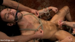Max Adonis - In Home Entertainment: Captive Slut Max Adonis Edged, Fucked, Tickled | Picture (5)