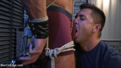 Michael Roman - Indecent Exposure: Muscle Stud Michael Roman Gets His Hard Cock Milked | Picture (1)