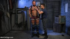 Michael Roman - Indecent Exposure: Muscle Stud Michael Roman Gets His Hard Cock Milked | Picture (2)