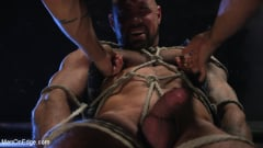 Michael Roman - Indecent Exposure: Muscle Stud Michael Roman Gets His Hard Cock Milked | Picture (8)