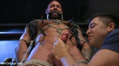Michael Roman - Indecent Exposure: Muscle Stud Michael Roman Gets His Hard Cock Milked | Picture (9)