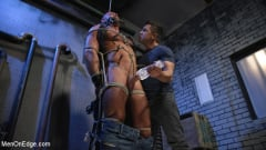 Michael Roman - Indecent Exposure: Muscle Stud Michael Roman Gets His Hard Cock Milked | Picture (11)