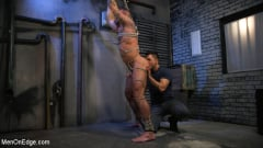 Michael Roman - Indecent Exposure: Muscle Stud Michael Roman Gets His Hard Cock Milked | Picture (12)