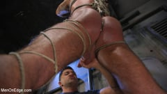Michael Roman - Indecent Exposure: Muscle Stud Michael Roman Gets His Hard Cock Milked | Picture (17)
