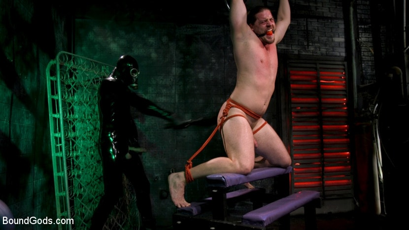 Pierce Paris - Straight Stud Bound and Terrorized to Relive HOLIDAY HORROR Abduction | Picture (6)
