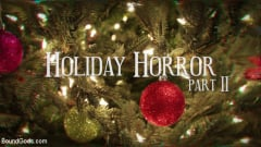 Pierce Paris - Straight Stud Bound and Terrorized to Relive HOLIDAY HORROR Abduction | Picture (1)
