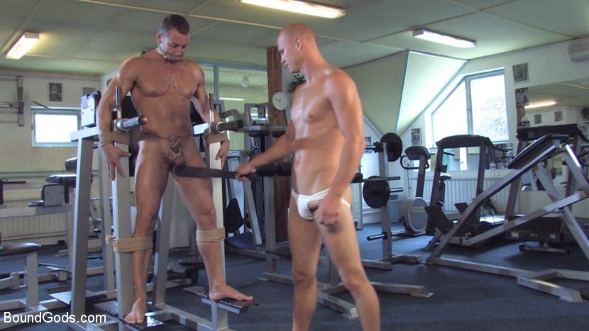 Rick Randy - Budapest Bound: Never-Before-Seen Bound Gods with Van Darkholme | Picture (8)