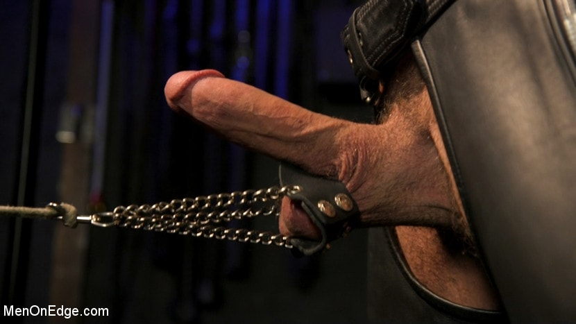 Ricky Larkin - Larkin's Load: Ricky Larkin Bound in Leather, Tickled, and Drained | Picture (5)