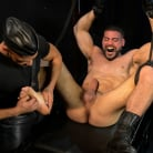 Ricky Larkin in 'Larkin's Load: Ricky Larkin Bound in Leather, Tickled, and Drained'