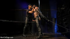 Ricky Larkin - Larkin's Load: Ricky Larkin Bound in Leather, Tickled, and Drained | Picture (10)