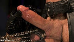 Ricky Larkin - Larkin's Load: Ricky Larkin Bound in Leather, Tickled, and Drained | Picture (11)