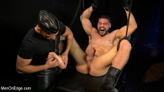 Ricky Larkin - Larkin's Load: Ricky Larkin Bound in Leather, Tickled, and Drained | Picture (14)
