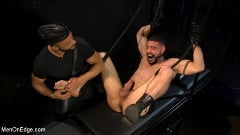 Ricky Larkin - Larkin's Load: Ricky Larkin Bound in Leather, Tickled, and Drained | Picture (17)