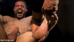 Ricky Larkin - Larkin's Load: Ricky Larkin Bound in Leather, Tickled, and Drained | Picture (21)