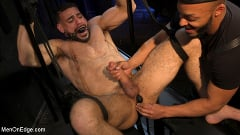 Ricky Larkin - Larkin's Load: Ricky Larkin Bound in Leather, Tickled, and Drained | Picture (27)