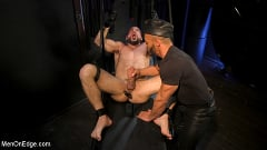 Ricky Larkin - Larkin's Load: Ricky Larkin Bound in Leather, Tickled, and Drained | Picture (29)
