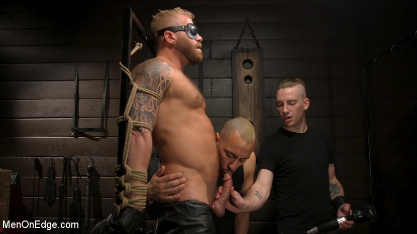 Riley Mitchell - Roped In: Muscle Dom Riley Mitchell Bound and Edged | Picture (10)