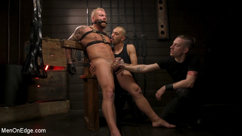 Riley Mitchell - Roped In: Muscle Dom Riley Mitchell Bound and Edged | Picture (23)