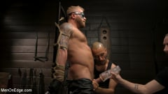 Riley Mitchell - Roped In: Muscle Dom Riley Mitchell Bound and Edged | Picture (4)